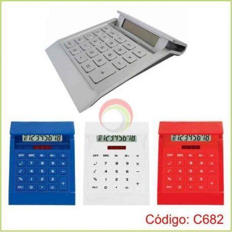 Calculadora de plastico