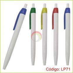 Lapiceros plasticos lp71