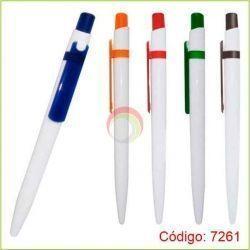 Lapiceros plasticos 7261