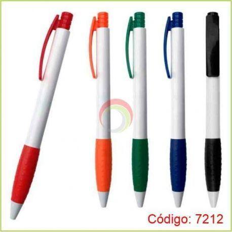 Lapiceros plasticos 7212