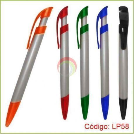 Lapicero Plástico LP-58