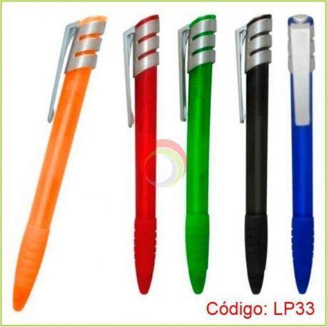 Lapicero Plástico LP-33