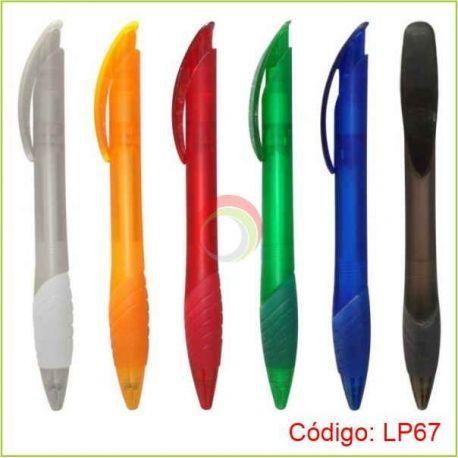 Lapicero plástico lp67