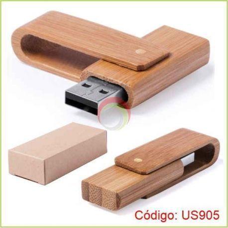 Usb de madera de 16gb