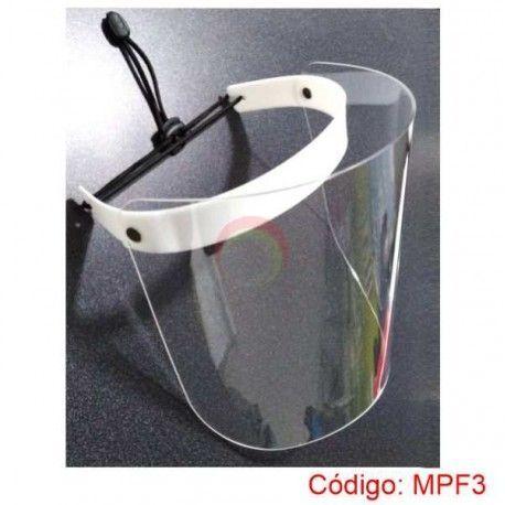 Mascara protector facial de acrilico