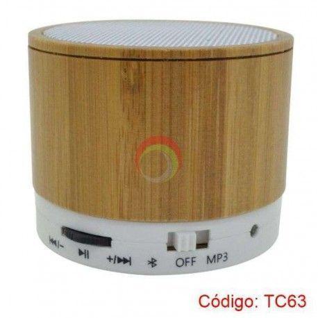 Parlante Bluetooth de Bambu