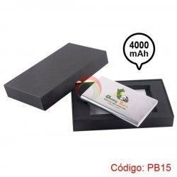 Power bank Metalico 4000 mah