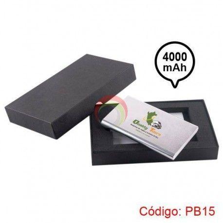 Power bank Metalico 4000 mah