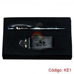 Kit Ejecutivo Usb Rich y Lapicero Metal Touch