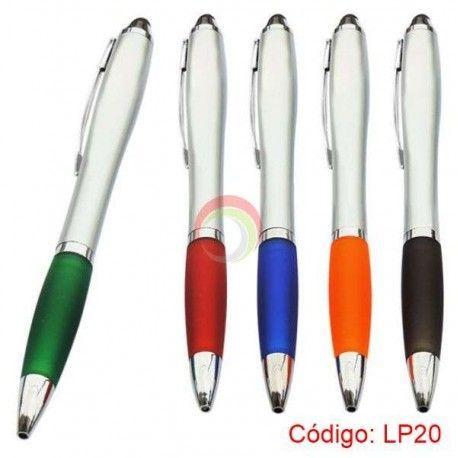 Lapicero plastico con touch lp20