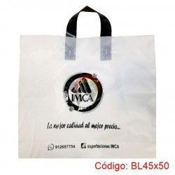 Bolsa Plástica con Asa Loop de 45x50
