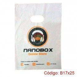 Bolsas Plásticas de 17x25