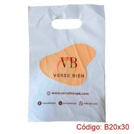 Bolsas Plasticas de 20x30 biodegradable