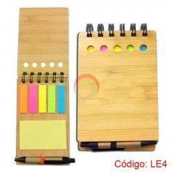 Libreta Ecológica de Bamboo