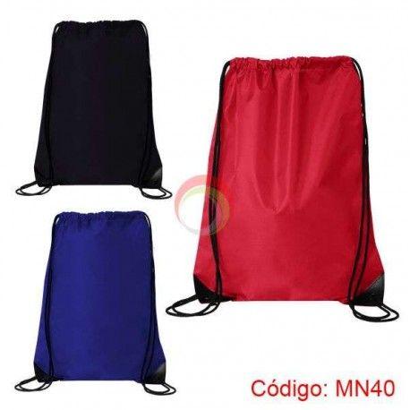 Bolso mochila de nylon