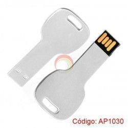 USB Metálico en forma de Llave de 4GB