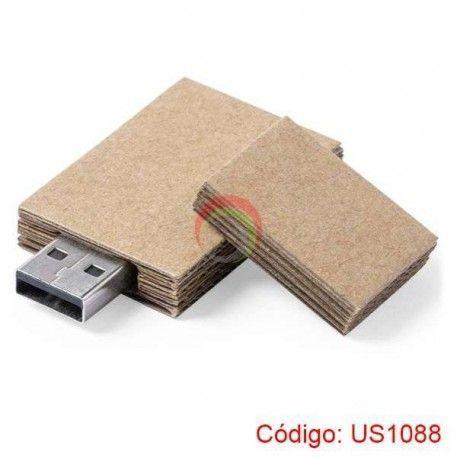 USB Papel Reciclado de 8GB