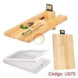 USB Tarjeta Bamboo 16GB