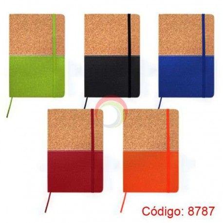 Libreta con Tapa de Corcho 8787